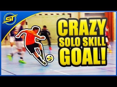 SkillTwins INSANE Solo Dribbling Goal! ★