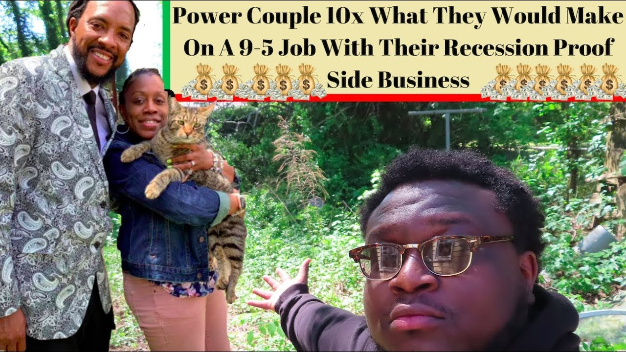 Power Couple Shows Your Side Business Can Make More Than Your 9-5!