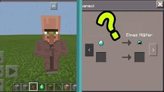Minecraft Pe Köylü Ticareti Değiştirme ?