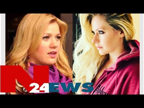 Kelly clarkson: avril lavigne elbowed me in the face