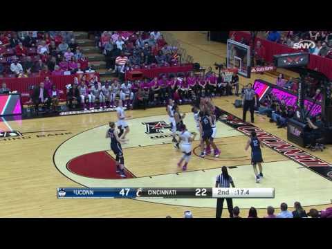 UConn Women's Basketball vs Cincinnati Highlights