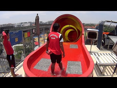 Wild Wild Wet Waterpark in Singapore (Raggae Music Video)