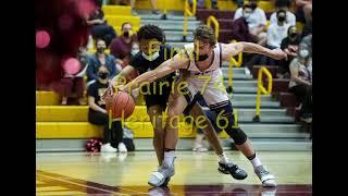Highlights, boys basketball: Prairie 74, Heritage 61