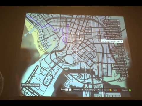 Grand Theft Auto V Map Locations For Gauntlet Missions Youtube