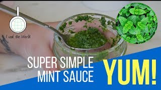 Mint Sauce Recipe Cooking Video - I Cook The World