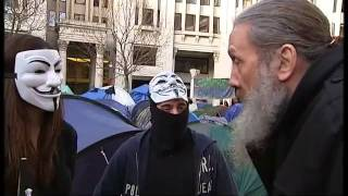 Alan Moore Visits Occupy