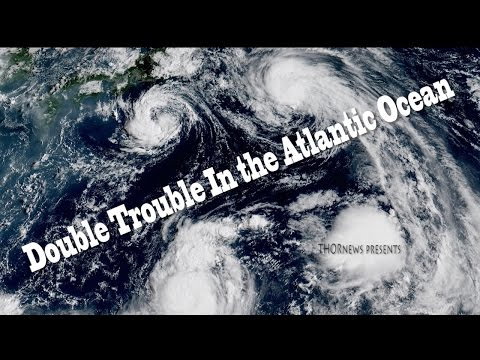 Hurricane! Double Trouble in the Atlantic!  Both could make Landfall on the Coast of the USA