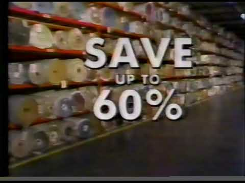New York Carpet World Commercial 1987