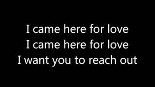 Sigala, Ella Eyre - Came Here For Love (with lyrics /con letra)