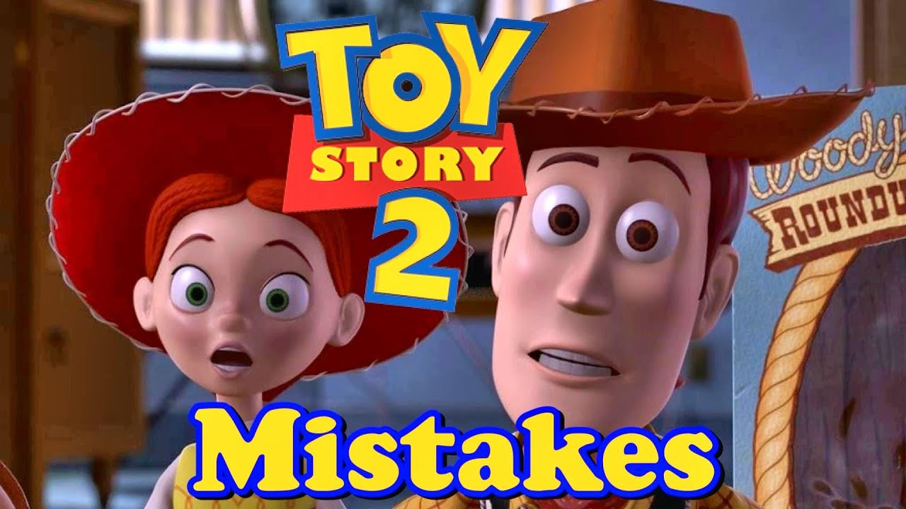 toy story 2 movie mistakes facts scenes bloopers