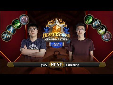 glory vs blitzchung   2021 Hearthstone Grandmasters Asia-Pacific   Top 8   Season 1   Week 5