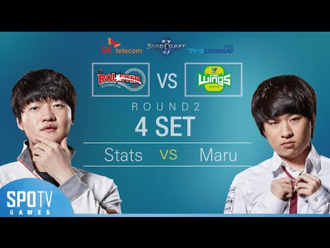 [SPL2016] Stats(KT) vs Maru(Jin Air) Set4 Dusk Towers -EsportsTV, Starcraft 2