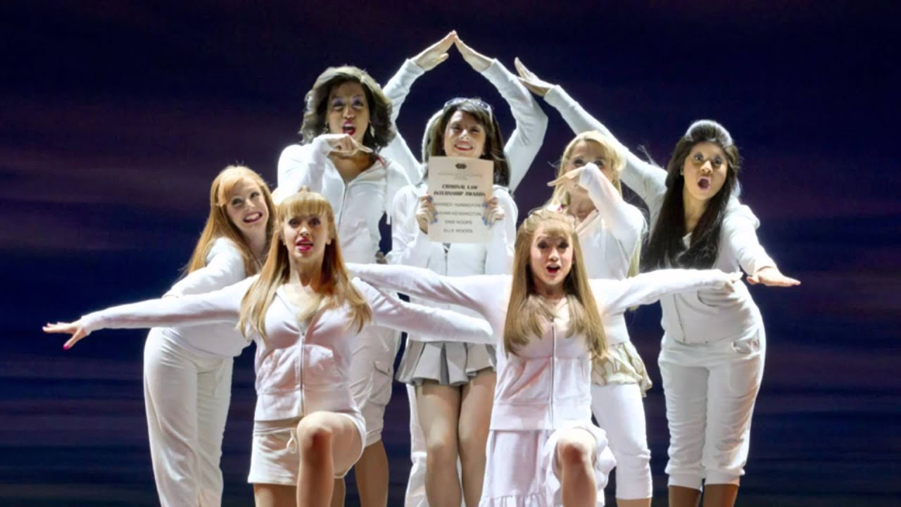 Legally blonde the musical positive