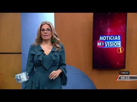 Noticias 4 Visión edición estelar en vivo! Viernes 9 de octubre 2020