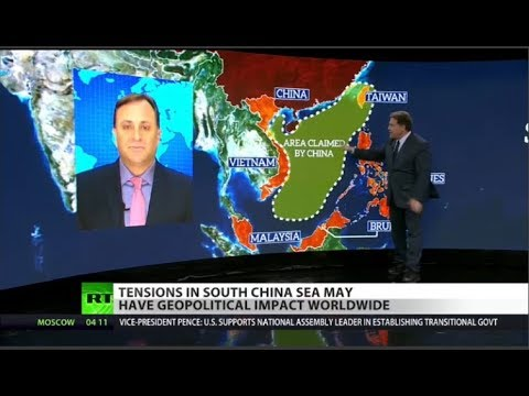 China Digs In on Sea Conflict with US