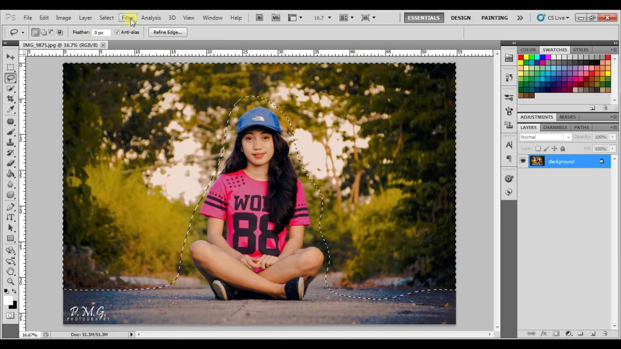 How to replace backgrounds in adobe photoshop cs5 « photoshop.