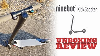 🛴 New Ninebot KickScooter Es1 Unboxing y Review Español Patinete Electrico by Segway