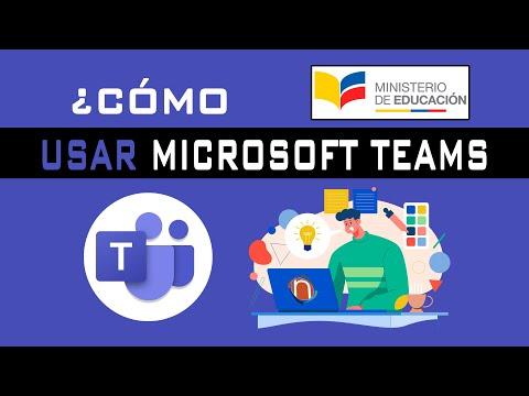 ¿Cómo Usar Microsoft Teams? -  TeleTrabajo
