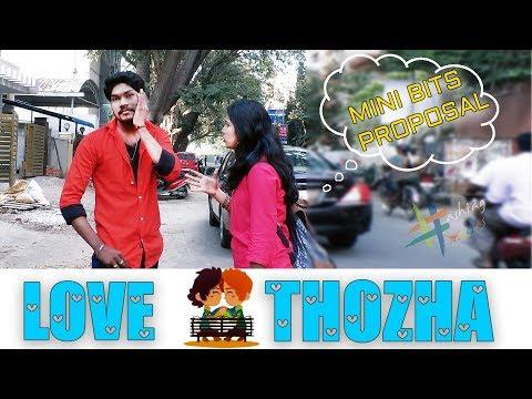 Mini Bits Proposal   Love Thozha   Hashtag Madras