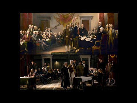 Founding fathers' descendants united 241 years later