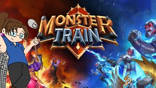 Monster Train - Game 1: Checking out this Deck-Building Card Game!