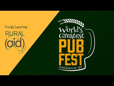 World's Greatest Pub Fest - What's your order?