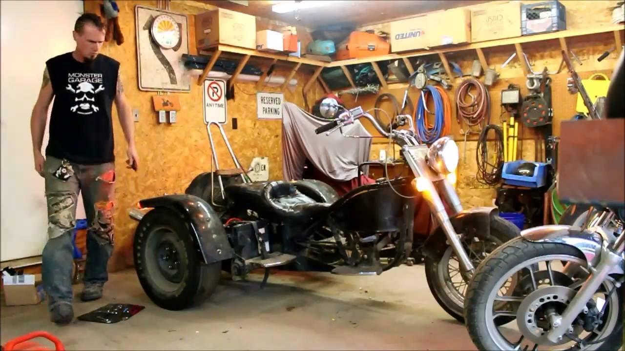 Resurrecting Mad Max - My 1975 VW / Norton / Harley Trike - YouTube