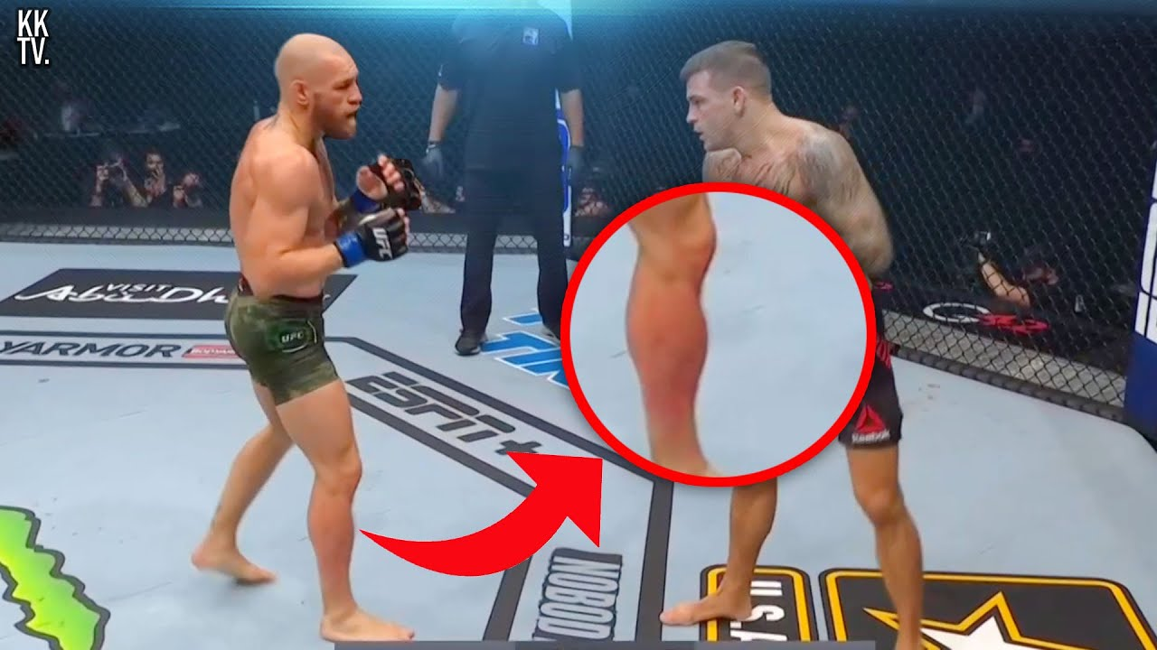 The Moment Conor Knew he lost...
