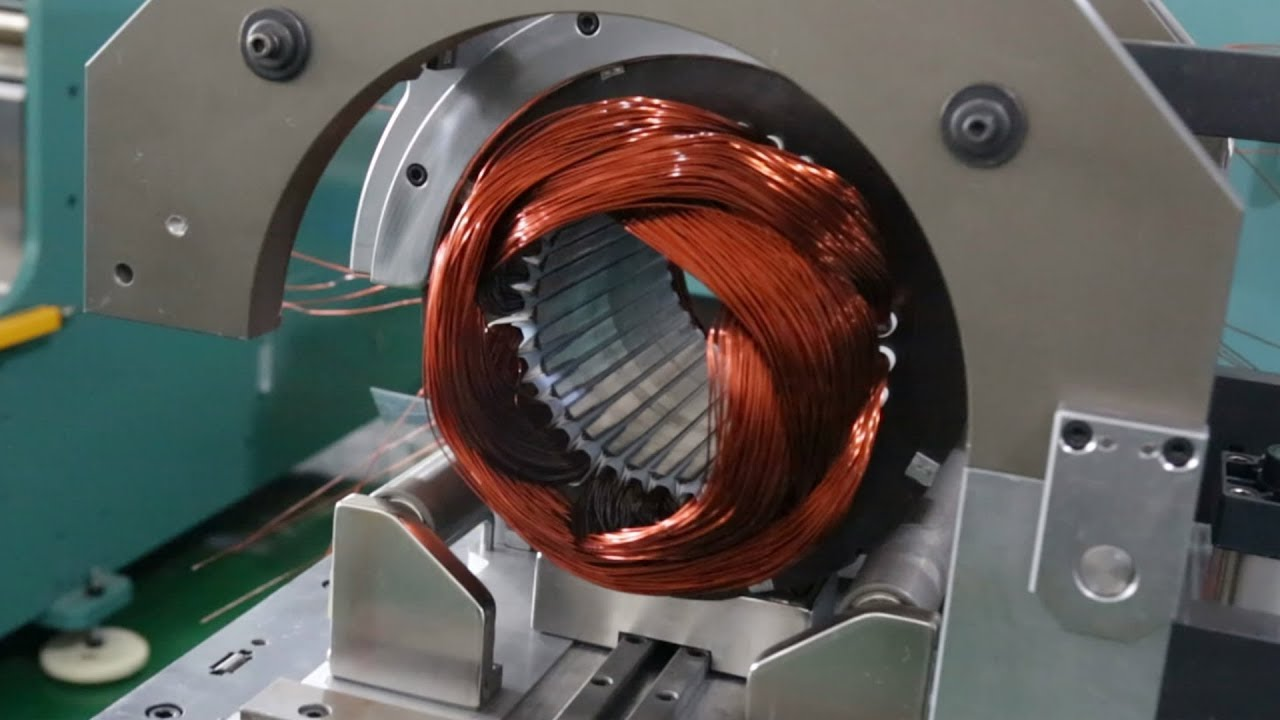 2018 Fully Automatic AC/DC Electric Motor Coil Winding Video