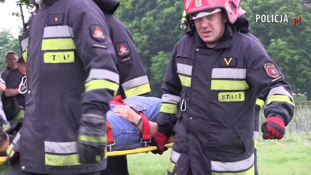 """Polska Policja - """"BASTION"""" - wielkie ćwiczenia służb w Warszawie - symulacja ataku terrorystycznego"""