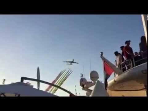 F1 Final Air Show in UAE  29 11 2015