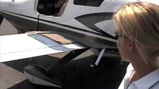 Cessna 400 Corvallis - Attractive pilot, walk-around & demo w/ stall