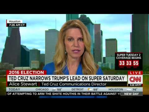 Alice Stewart on CNN: It's Time to Unite Behind Ted Cruz | March 7, 2016