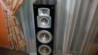 My Yamaha Home Theater System RXV571 AV Receiver (NS777 NS8390BL NSP60B1 YST RSW300B1 Sub Woofer)