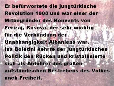 ISA BOLETINI - [ Biografia ] Gjermanisht & Shqip
