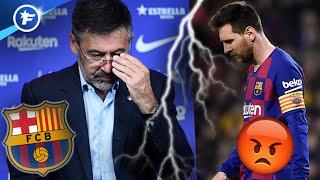 Le FC Barcelone et Lionel Messi en pleine guerre des nerfs | Revue de presse