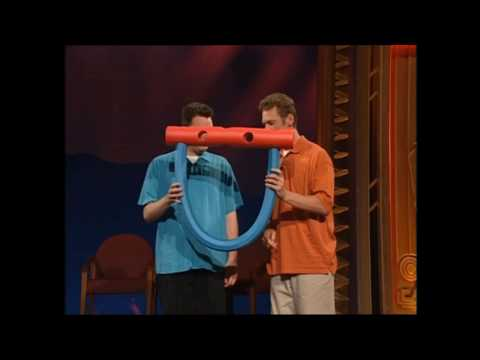 Props (plastic tube and foam pole, foam extinguishers) - Whose Line UK