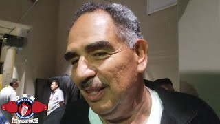 """ABEL SANCHEZ: """"WE CAN'T FORCE (GOLOVKIN) HIM TO DO SOMETHING HE DOESN'T WANT TO DO"""""""