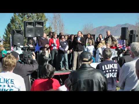 Sen. Mike Lee speech at 11/02/2013 rally - includes 10 min. ovation