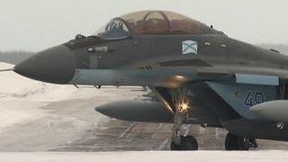 Авиагруппа  Адмирала Кузнецова  вернулась в Североморск