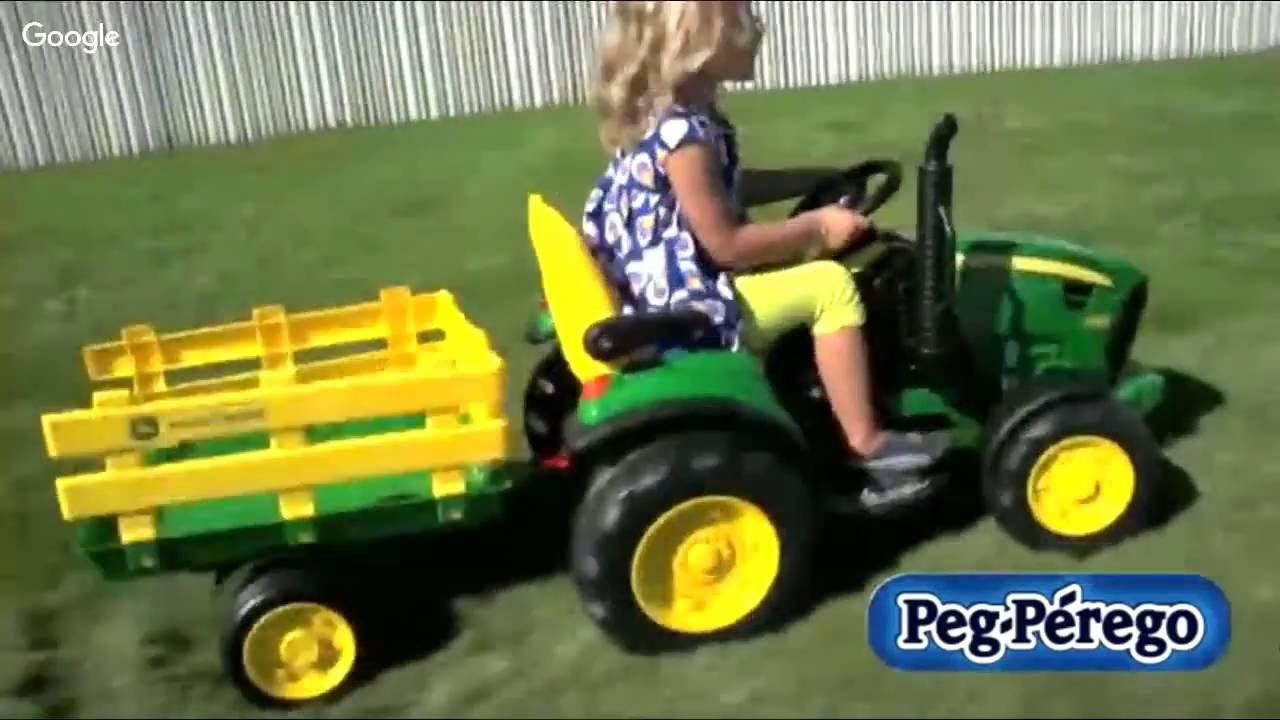 John Deere Power Wheels : John deere tractor power wheels review peg perego