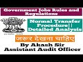 Normal Transfer in Central Government||Rules and Regulations||In Hindi