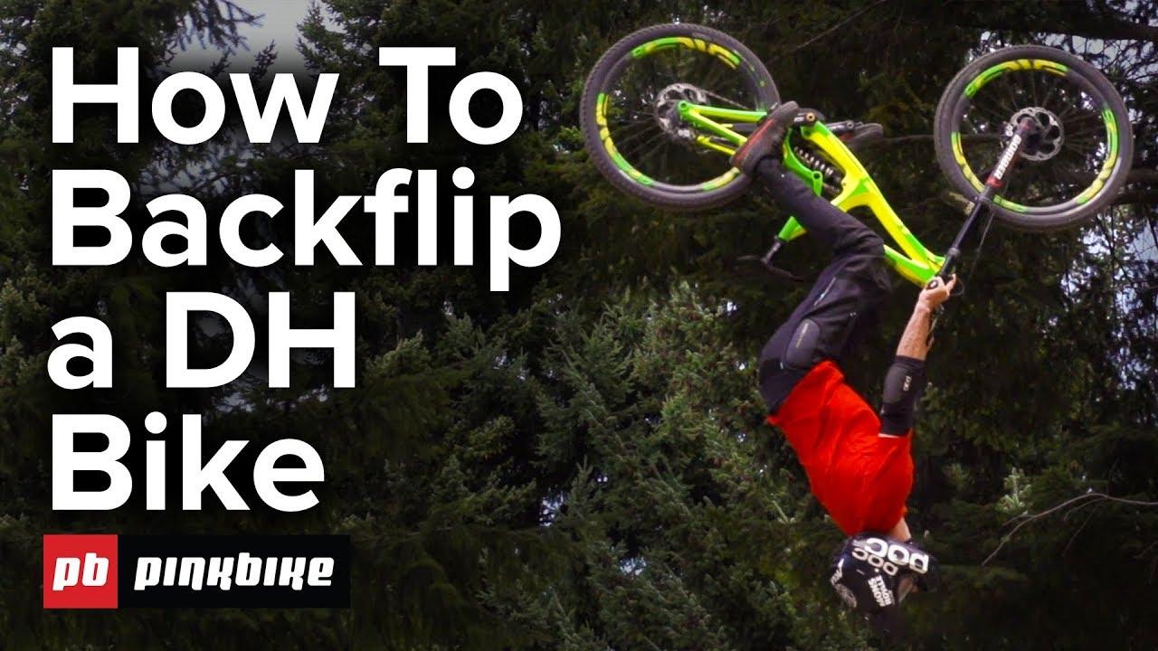 a88fa057420 How To Backflip a Downhill Bike w/ Conor Macfarlane - YouTube
