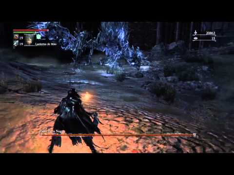 Bloodborne Dark Beast Paarl Boss Fight