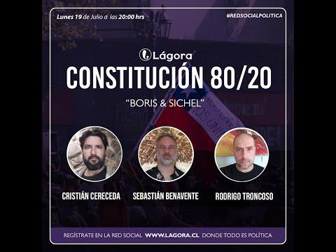 Constitución 80/20 - Resultados primarias Boric & Sichel