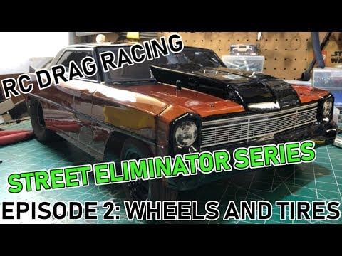132 Foot RC Drag Racing: Street Eliminator Series: Episode 2: Wheels and Tires