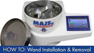 HOW TO: Mikro Air Jet Sieve® MAJSx Wand