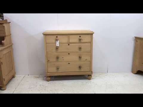 Victorian Pine Chest of Drawers - Pinefinders Old Pine Furniture Warehouse