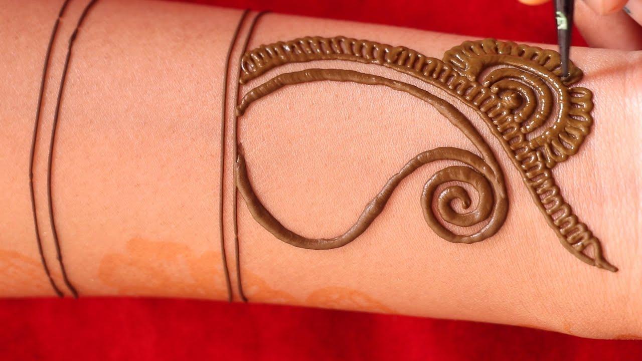 stunning arabic henna mehndi design || easily beautifully henna mehndi design || latest new mehendi