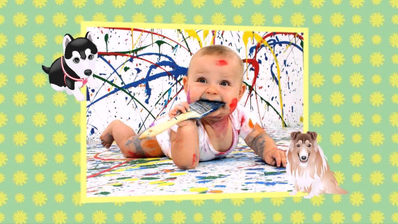 Шаблон № 2 детский /Создание слайд-шоу из Ваших фотографий ...